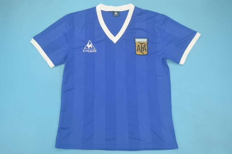 AAA Quality Argentina 1986 Away Retro Soccer Jersey