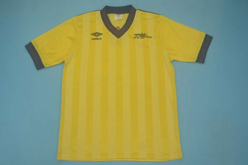 AAA Quality Arsenal 1984/86 Away Retro Soccer Jersey