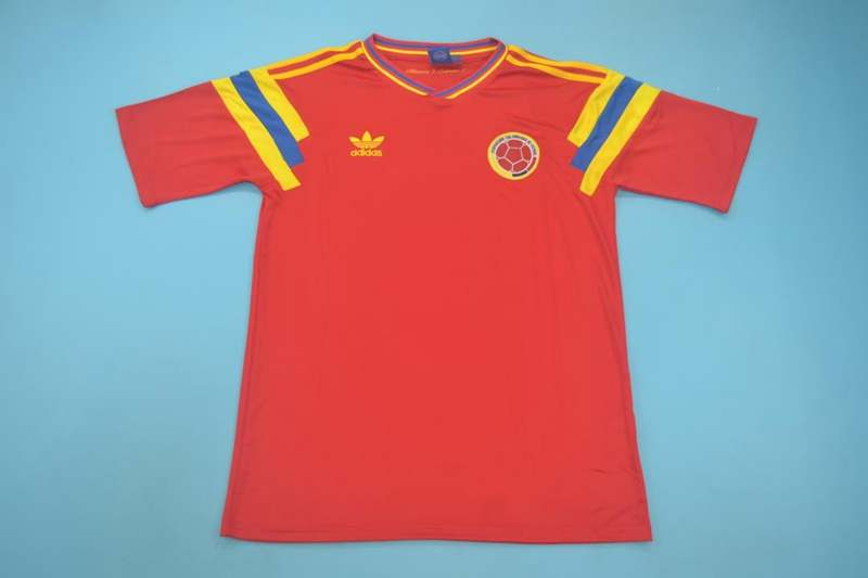 AAA Quality Colombia 1990 Away Retro Soccer Jersey