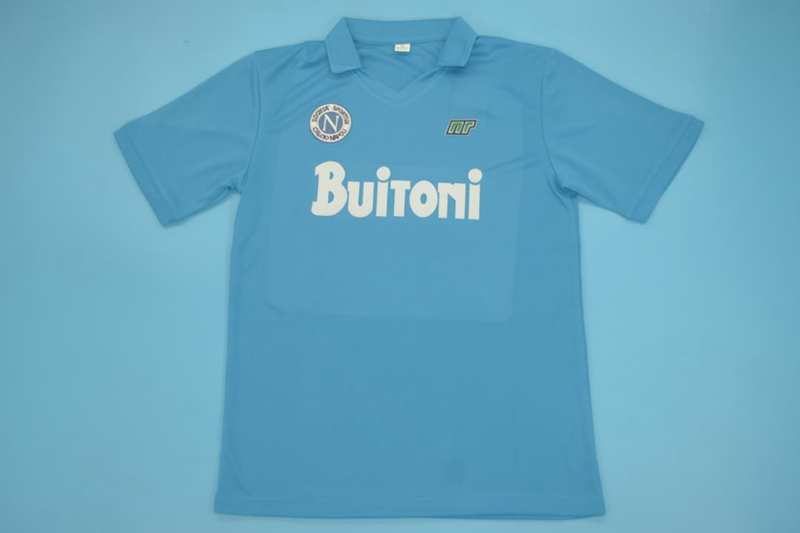 AAA Quality Napoli 1986/87 Home Retro Soccer Jersey