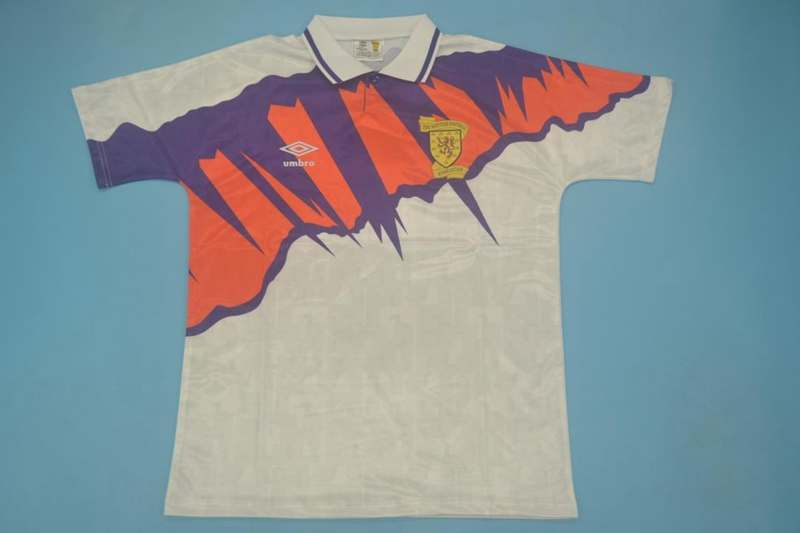 AAA Quality Scotland 1991/93 Away Retro Soccer Jersey