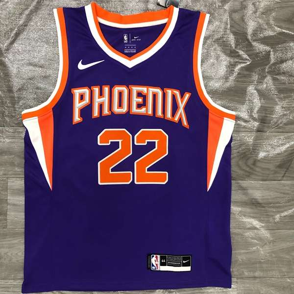 20/21 Phoenix Suns AYTON #22 Purple Basketball Jersey (Hot Press)